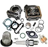UNTIMERO 80cc Sport Cilindro Culata para Rex RS 500 50 4T Aire hasta2017