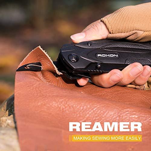 ROXONCM1349マルチツール14-in-1多機能型ペンチ折り畳みペンチアウトドア/お釣り/防災/作業用/キャンプ/登山用