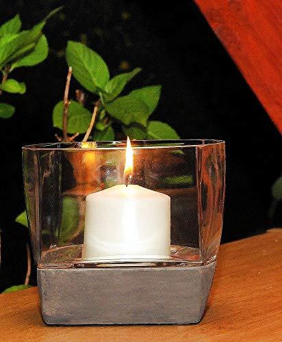 IMC Manufactoria Windlicht lantaarn kaarshouder theelichthouder standaard glas goedkoop tuin kaars