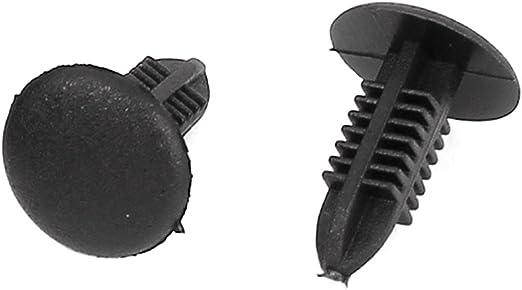 Sourcingmap 100 Stück Nylon Spreiznieten Stoßstange Befestigung Clip 5mmx5mm Loch De De Auto