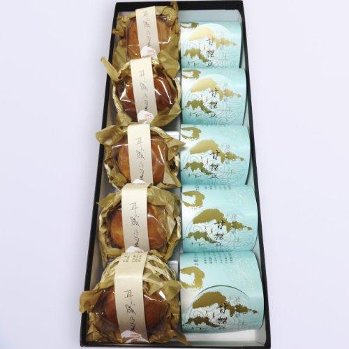 和菓子 2種 10個 奈良・飛鳥の和菓子 栗饅頭 5個 梅甘露煮入り饅頭 5個