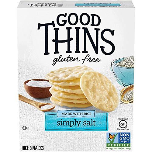 Good Thins Simply Salt Rice Snacks Gluten Free Crackers, 3.5 oz