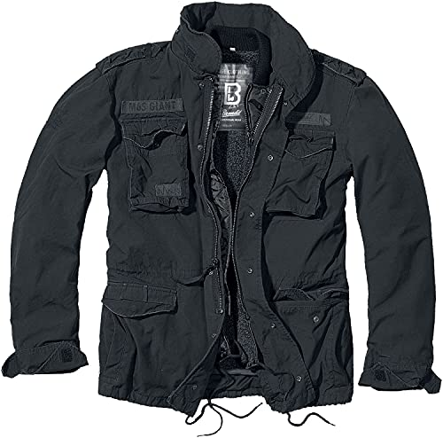 Brandit M65 Giant Jacke Schwarz S