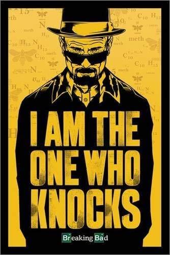 Tainsi Breaking Bad - Walt: Io Sono Quello Che bussa Poster(11x17inch,28x43cm)
