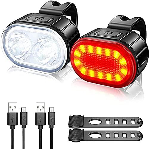LCQL Fahrradbeleuchtung Set Fahrradlicht...