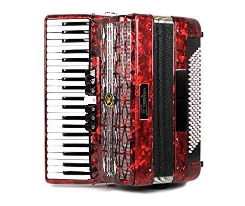 Muses 2008RD - fisarmonica 120 bassi - colore rosso