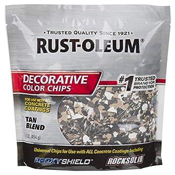Rust-Oleum 238470 EPOXYShield Decorative Color Chips Tan Blend