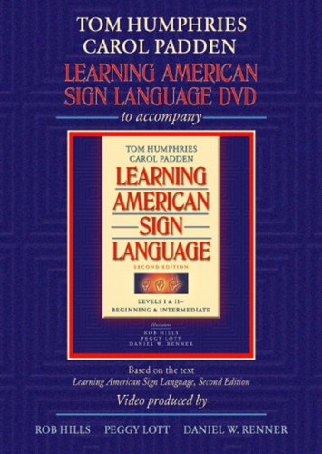 Learning American Sign Language DVD to accompany Learning American Sign Language - Levels 1 & 2 Beginning and Intermedia