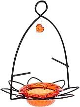 Birds Choice Flower Oriole Bird Feeder Small Orange