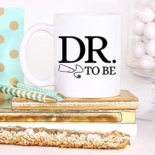 Taza del Dr. to Be de la escuela de medicina regalos de estudiante médico taza de estudiante de la escuela de medicina taza de café