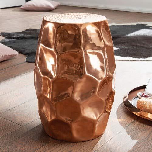 Wohnling Jada bijzettafel, aluminium, koper, 30 x 47 x 30 cm