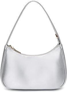 CYHTWSDJ Schultertaschen für Damen, niedliche Hobo-Tragetasche, Mini-Clutch, Geldbörse mit Reißverschluss