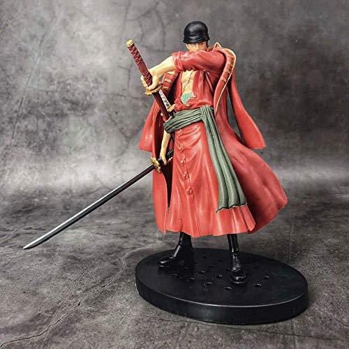 JINFENFG One Piece DXF Theatre Edition One Piece Red Sauron 16.5 Cm Material de PVC Figura en caja Modelo Paisaje Juguetes Hecho a mano Computadora Decoración de escritorio Regalos de cumpleaños Regal