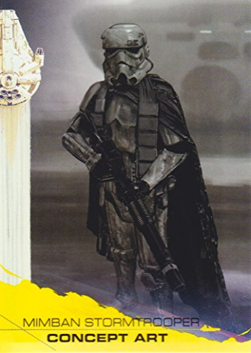 2018 Solo A Star Wars Story Yellow #99 Mimban Stormtrooper Concept Art