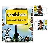 trendaffe - Crailsheim - Einfach die geilste Stadt der Welt Kaffeebecher