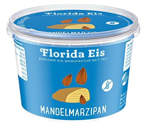 """Eiscreme """"Florida Eis"""" Mandelmarzipan - Familienpackung - 500ml"""