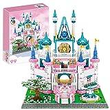 3008pcs Street View Princess Castle Bricks Model Set, DIY Bloque de construcción Conjunto de Arquitectura Arquitectura Pequeño partículas Construcción de decoración Colección