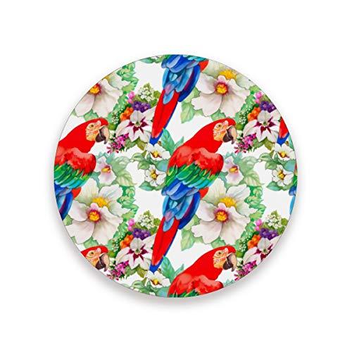 MALPLENA Karotten-Malvorlage Untersetzer Untersetzer, groß 3,9 Zoll Größe passen alle Tassen Haus Küche Dekor Ideen Geschenk