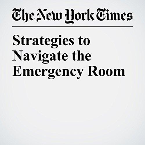 Strategies to Navigate the Emergency Room copertina