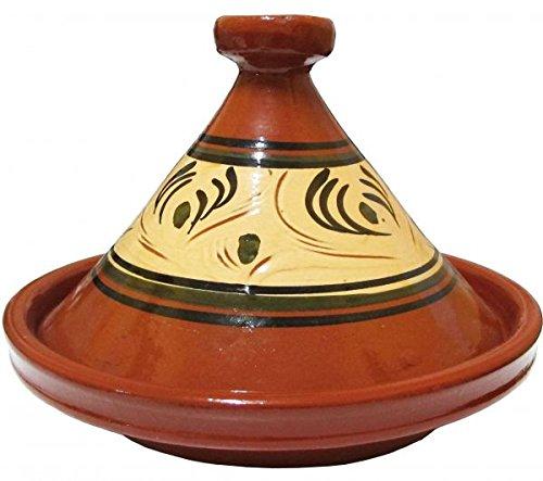 Tajine marocchina Tanger smaltata, diametro 31 cm