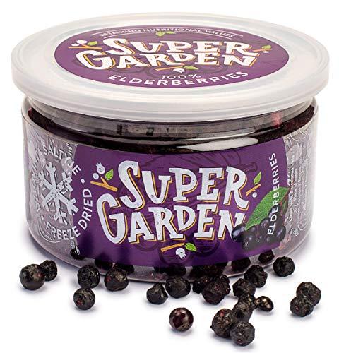 Supergarden Super Berries liofilizado (Bayas de saúco)
