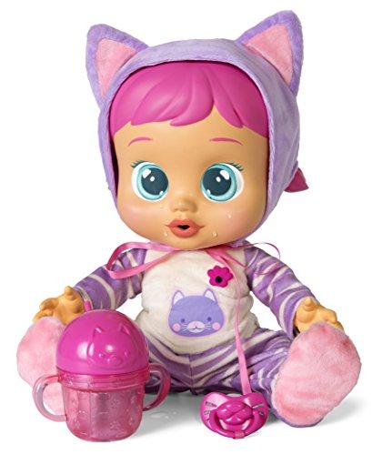 IMC Toys Cry Babies 95939, Bebe' Piagnucolosi, Katie Cry Babies Beve e Piange