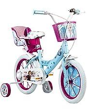 Disney Barncykel, 14 tum flickcykel, Frozen, från 3,5 år