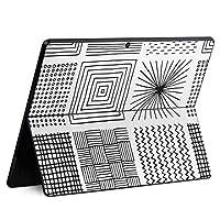 igsticker Surface Pro X 専用スキンシール サーフェス プロ エックス ノートブック ノートパソコン カバー ケース フィルム ステッカー アクセサリー 保護 050853