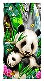 Precious Pandas Super Soft Plush Cotton Beach Bath Pool Towel