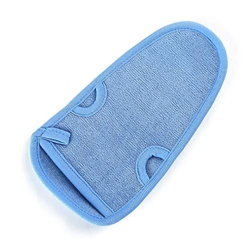 NCHEOI Unisexe Serviette De Bain Double Face Fibre Végétale Épaississement Super Sympa Serviette De Bain Doux Et Facile À Sec Et sans Douleur Peau (Color : Blue)