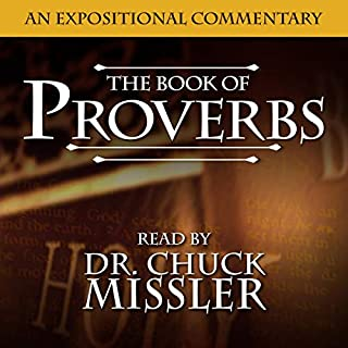 Proverbs audiobook cover art