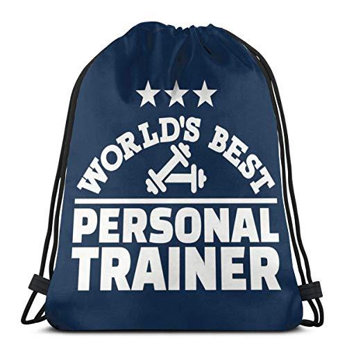 BXBX entraîneur Personnel du Monde Sac à Dos à Cordon Sac à Dos Sacs à bandoulière Sac de Sport
