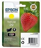 Epson 29 Claria Home Strawberry Cartouche d'encre d'origine Jaune Amazon Dash Replenishment est prêt