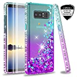 Galaxy Note 8 case with 3D PET Screen Protector [2 Pack] for Girls Women, LeYi...
