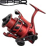 Spro The Legend Red Arc 2000 - Stationärrolle zum Spinnfischen auf Zander, Barsche & Forellen, Angelrolle zum Spinnangeln