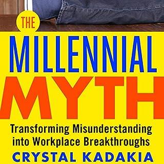 The Millennial Myth audiobook cover art