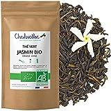 Chabiothé - Thé vert au Jasmin BIO 200g - conditionné en France - sachet biodégradable