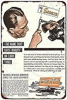 Shimaier 壁の装飾 メタルサイン Snap-On Tools The Choice of Better Mechanics Ad ウォールアート バー カフェ 縦30×横40cm ヴィンテージ風 メタルプレート ブリキ 看板