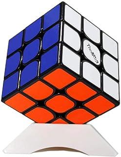 OJIN Valk 3 The Valk 3 Speed Cube Puzzle 3x3x3 Juguete de Rompecabezas Liso de 3 Capas con un trípode de Cubo (Negro)