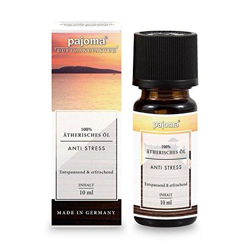 pajoma Duftöl Anti Stress, 100% naturrein, Komposition, ätherisch, 10 ml