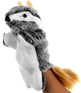دمية يد على شكل ديناصور مارينيت جلوف دمى مسرحية دمى قطيفة قصص دمية للتحدث مساعدة تعليمية لطيفة للأطفال (اللون: 11) ديتازي