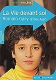 La vie devant soi - Belin - Gallimard - 10/08/2014