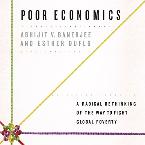 Poor Economics audiobook cover art