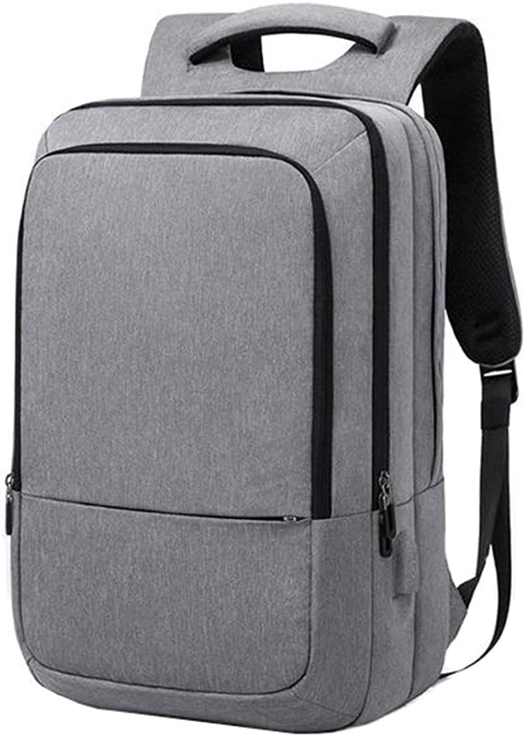 Business Laptop Backpack with USB Charging Port for Laptop and Notebook Water Resistant Large Compartment College School Computer Bag,Bag for Men and Women Pack for Business School and Travel