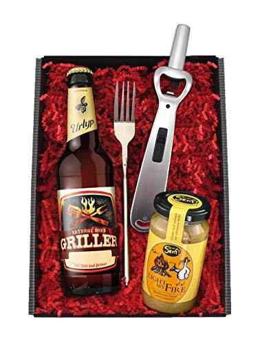 Bier-Geschenkbox Natural Born Griller