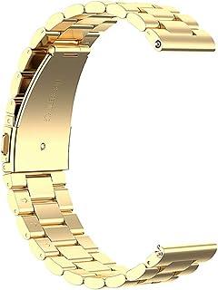 Hemobllo Steel Metal Watch Band Steel Bracelet Straps Compatible for Amazfit GTR
