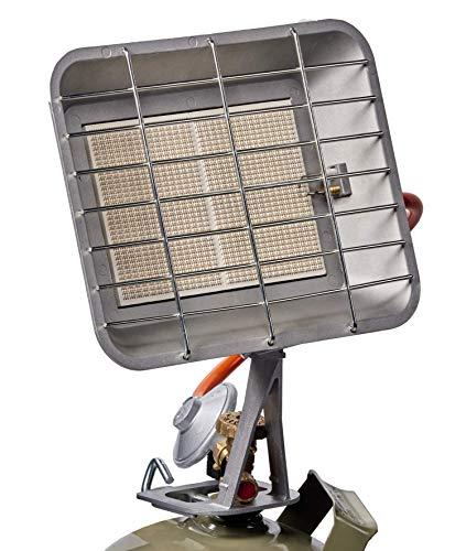 Einhell Gasheizstrahler GS 4400 P (Heizleistung 2900-4400 W, inkl. Gasdruckregler 50 mbar, Gasschlauch, Regler, für alle handelsüblichen Gasflaschen)