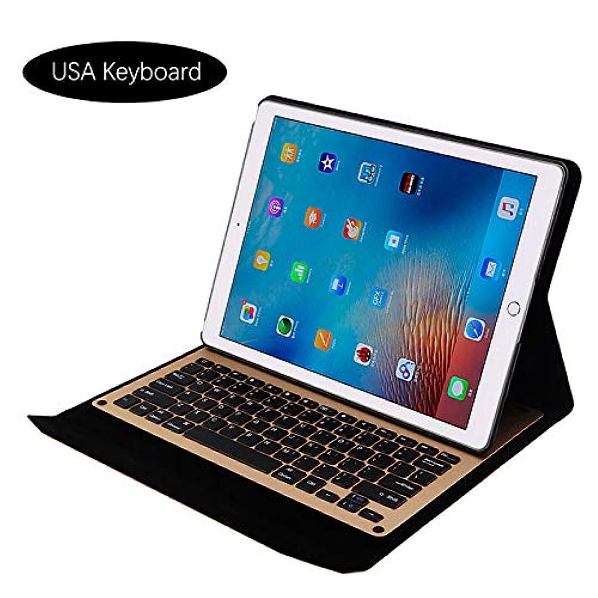 老朽化した安定しましたオーバーヘッドiPad Pro 12.9 inch 2015 2017 電話 シェル 保護 設計 シェル Phoebe Backcase 強い シェル Phoebe スリム 轻 シェル カバー の iPad Pro 12.9 inch 2015 2017 (Golden)