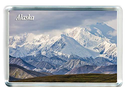 I101 Alaska Imán para Nevera Alaska Travel Fridge Magnet
