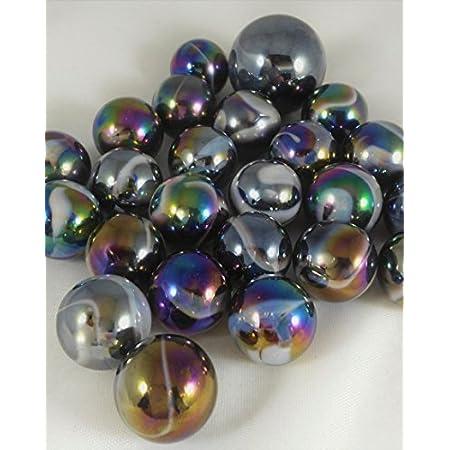 JUPITER MARBLES NET Mega Marbles 1 Shooter Marble /& 24 Player Marbles